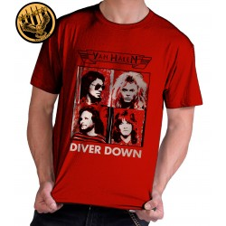 Camiseta Exclusiva Van Halen