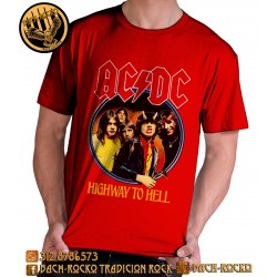 Camiseta Exclusiva AC/DC