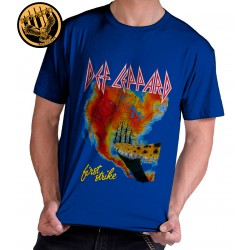 Camiseta Exclusiva Def Leppard