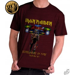 Camiseta Exclusiva Iron Maiden