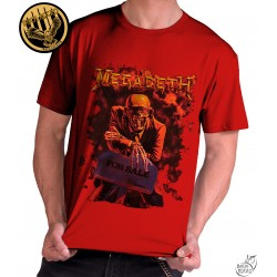 Camiseta Exclusiva Megadeth